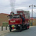 Elizabeth - Steam Bus At Whitby by Rod Johnson