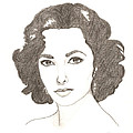Elizabeth Taylor by Kiana Gonzalez