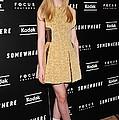 Elle Fanning Wearing A Rodarte Dress by Everett