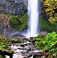 Elowah Falls 2 by Albert Seger