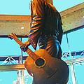 Elvis In Bronze At Memphis by Lizi Beard-Ward