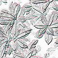 Embossed Crotons by Tom Wurl
