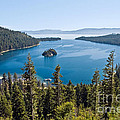 Emerald Bay Morning by Jim Chamberlain