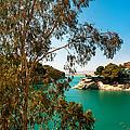 Emerald Lake With Duke House I. El Chorro. Spain by Jenny Rainbow