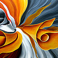 Emerging Flower by Uma Devi