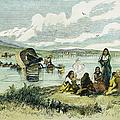 Emigrants In Nebraska, 1859 by Granger