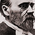 Emile Zola 1840-1902, French Novelist by Everett