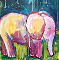 Emily's Elephant 1 by Laurie Maves ART