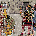Emissaries Bring Tribute To Inca by Ned M. Seidler