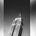 Empire State Black And White by Stephen Walker
