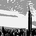 Empire State Building Bw3 by Scott Kelley
