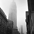 Empire State Building In Fog by Adam Garelick