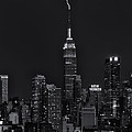Empire State Building Lightning Strike II by Clarence Holmes