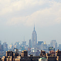 Empire State Building Seen From Lower Manhattan by Ryan McVay