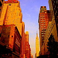 Empire State Building Sunset by Ms Judi