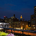 Empire State From High Line by John Dryzga