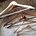 Empty Coat Hangers by Kantilal Patel
