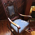Empty Rocking Chair by Guy Ricketts