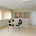 Empty School Classroom by Jaak Nilson