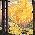 En Tarentaise - Vintage French Travel by Georgia Fowler