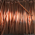 Enamel Coated Copper Wire by Photo Researchers