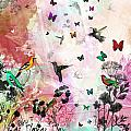Enchanting Birds And Butterflies by Carly Ralph