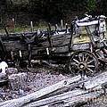 End Of The Trail Oregon Conestoga Wagon  by Glenna McRae
