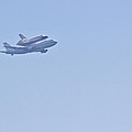 Endeavour Flyover by Heidi Smith