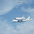 Endeavour's Final Flight by Diana Haronis