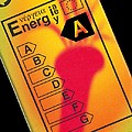 Energy Efficiency Rating Label by Sheila Terry