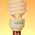 Energy Saving Light Bulb by Photo Researchers, Inc.