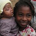 Enfants A Madagascar by Francoise Leandre