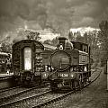 Engine 1638 by Nigel Jones