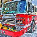 Engine 34 Readied Up by Michael Frank Jr