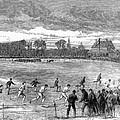 England: Foot Race, 1866 by Granger