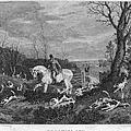 England: Fox Hunt, 1833 by Granger