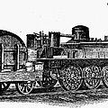 England: Locomotive, C1831 by Granger