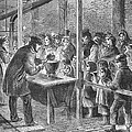 England: Soup Kitchen, 1862 by Granger
