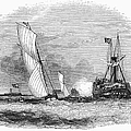England: Yacht Race, 1843 by Granger