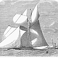 England: Yacht Race, 1868 by Granger
