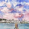 English Bay by Carla Van Velze