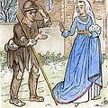English Beggar, 1330 by Granger