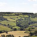 English Countryside Panorama by Jane Rix