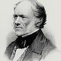 Engraving Of English Geologist Sir Charles Lyell by Dr Jeremy Burgess