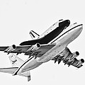 Enterprise Shuttle Ny Flyover by Regina Geoghan