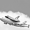 Enterprise Shuttle Over Ny by Regina Geoghan