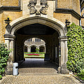 Entrance To Cecilienhof Palace by Jon Berghoff
