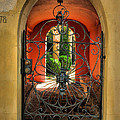 Entrance To Stucco Home by Steven Ainsworth