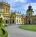 Entrance To Wilanow Palace - Warsaw by Jon Berghoff