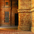 Entry To The Spanish Pavillion In Sevilla Spain by Greg Matchick